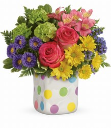 Teleflora's Happy Dots Bouquet from Inglis Florist in Tucson, AZ